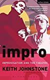 Book cover for Impro: Improvisation and the Theatre (Performance Books)