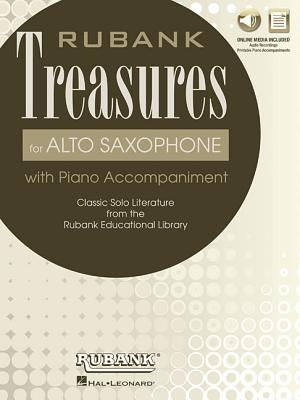 Rubank Treasures for Alto Saxophone: Book with Online Audio (Stream or Download)