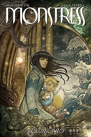 book cover for Monstress volume two