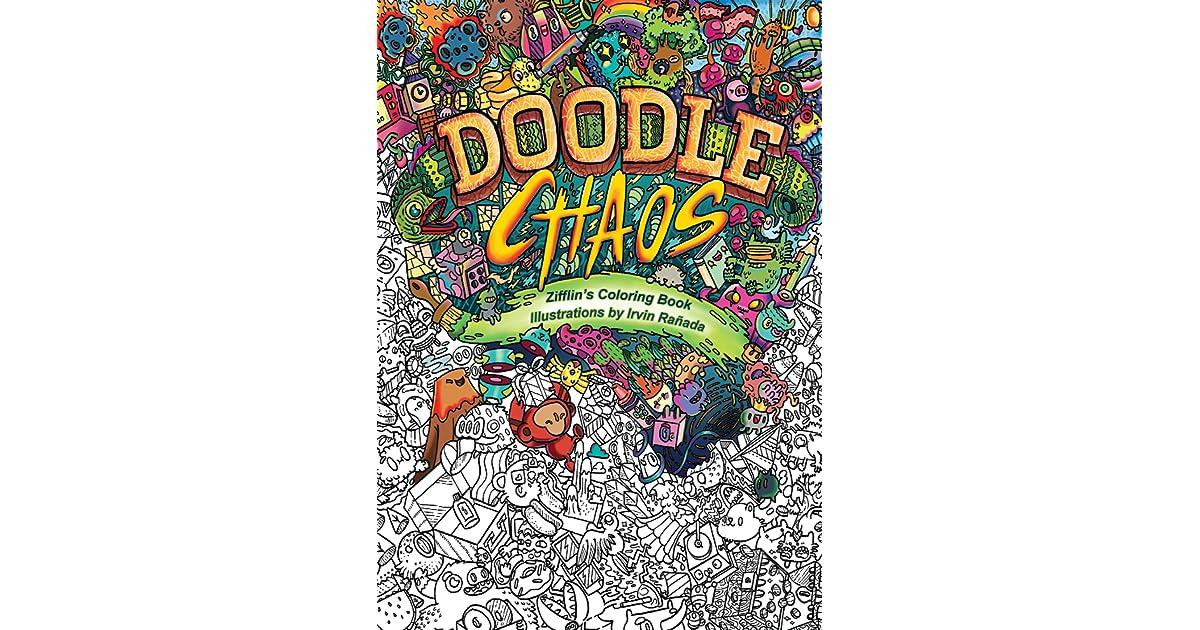 Doodle Chaos Zifflins Coloring Book By Zifflin