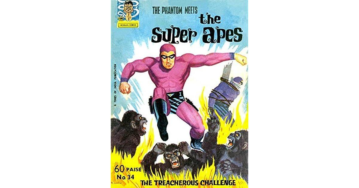 Indrajal Comics-34-Phantom (Rare Gem): The Phantom Meets the Super