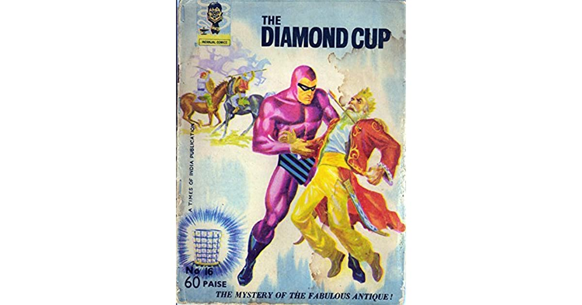 Indrajal Comics-16-Phantom (Rare Gem): The Diamond Cup by Lee Falk
