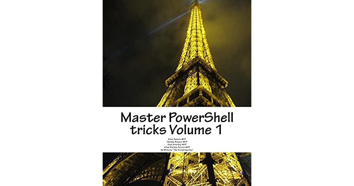 master powershell tricks volume book 3