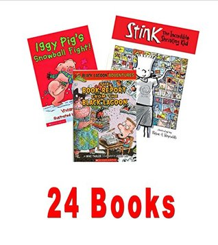 The Best of Grade 2 Collection: Stink the Incredible Shrinking Kid; Black Lagoon; Magic Tree House Series; Happy Birthday Bad Kitty; Wishbone Books