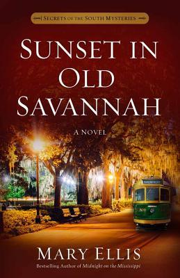 Sunset in Old Savannah by Mary  Ellis
