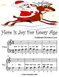 Here Is Joy for Every Age - Beginner Tots Piano Sheet Music