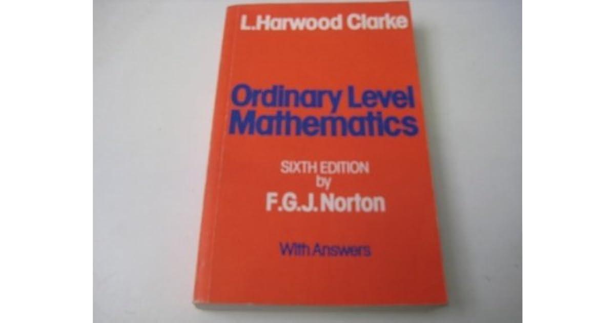 O Level Mathematics Book