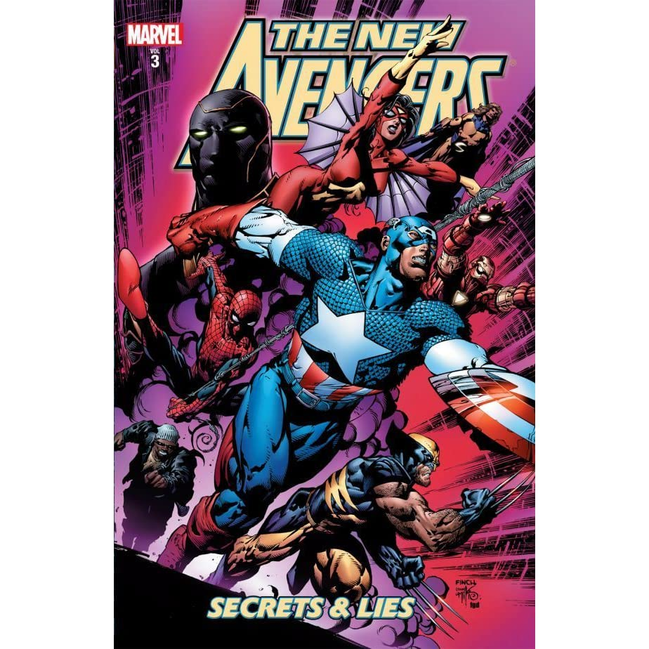 The New Avengers, Volume 3: Secrets and Lies by Brian