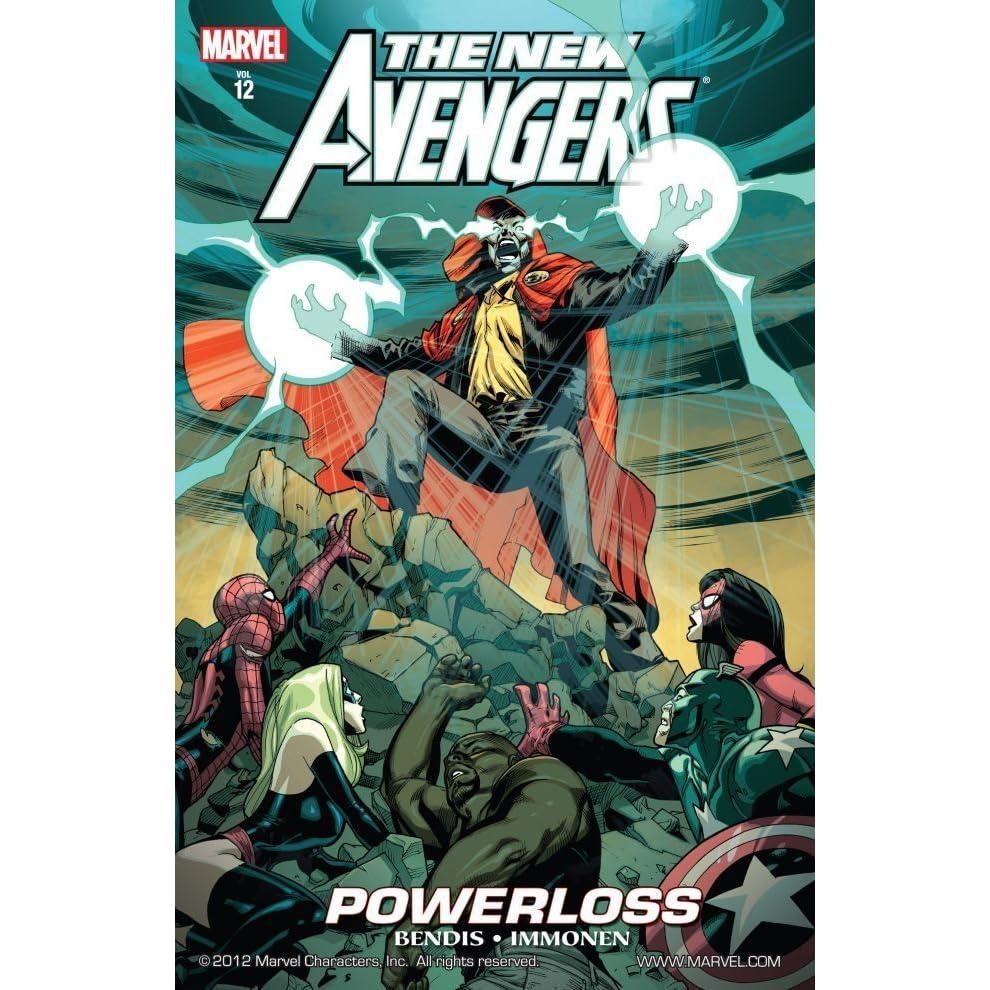 The New Avengers, Volume 12: Powerloss by Brian Michael Bendis
