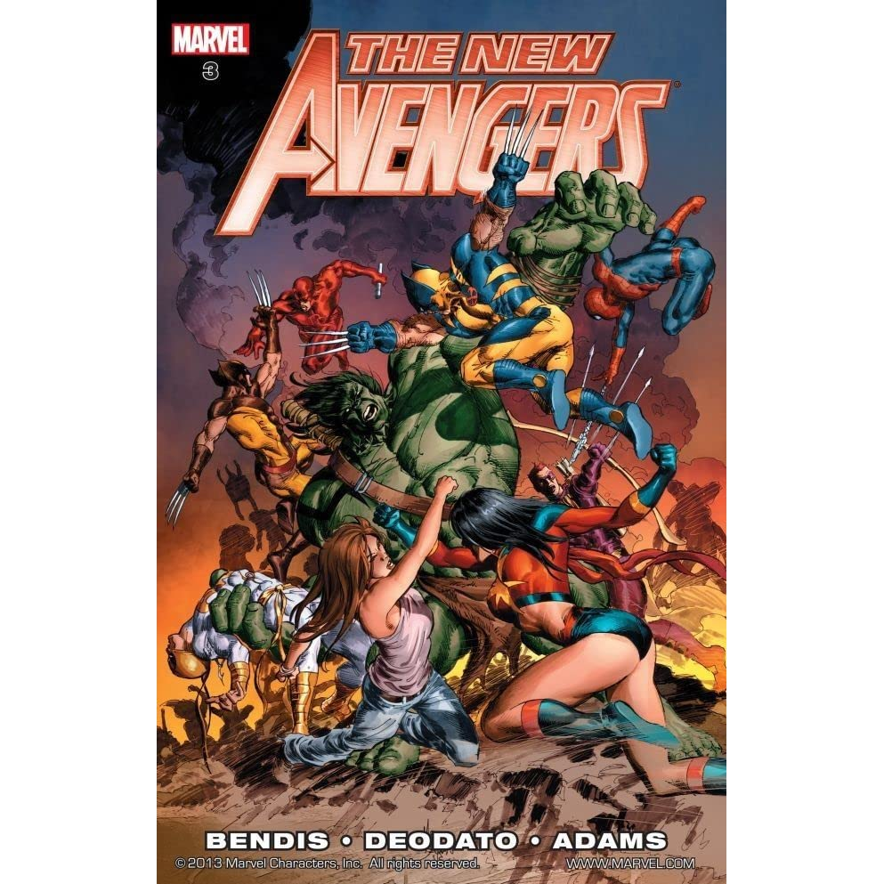 The New Avengers, Volume 3 by Brian Michael Bendis