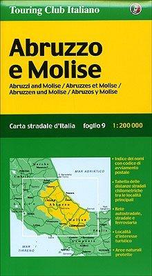 Cartina Stradale Abruzzo Molise.Abruzzo E Molise By Touring Club Italiano