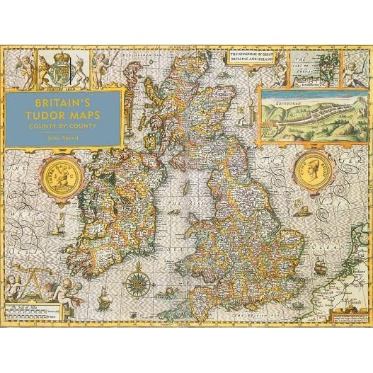 Britains Tudor Maps County by County