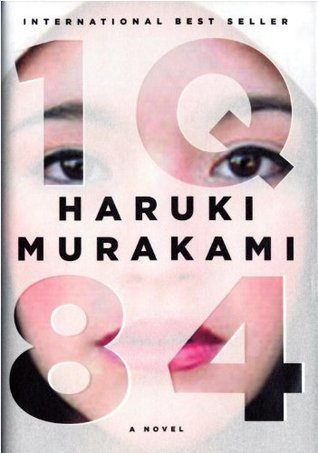 "Book cover of ""1Q84"" by Haruki Murakami"
