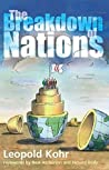 Book cover for The Breakdown of Nations