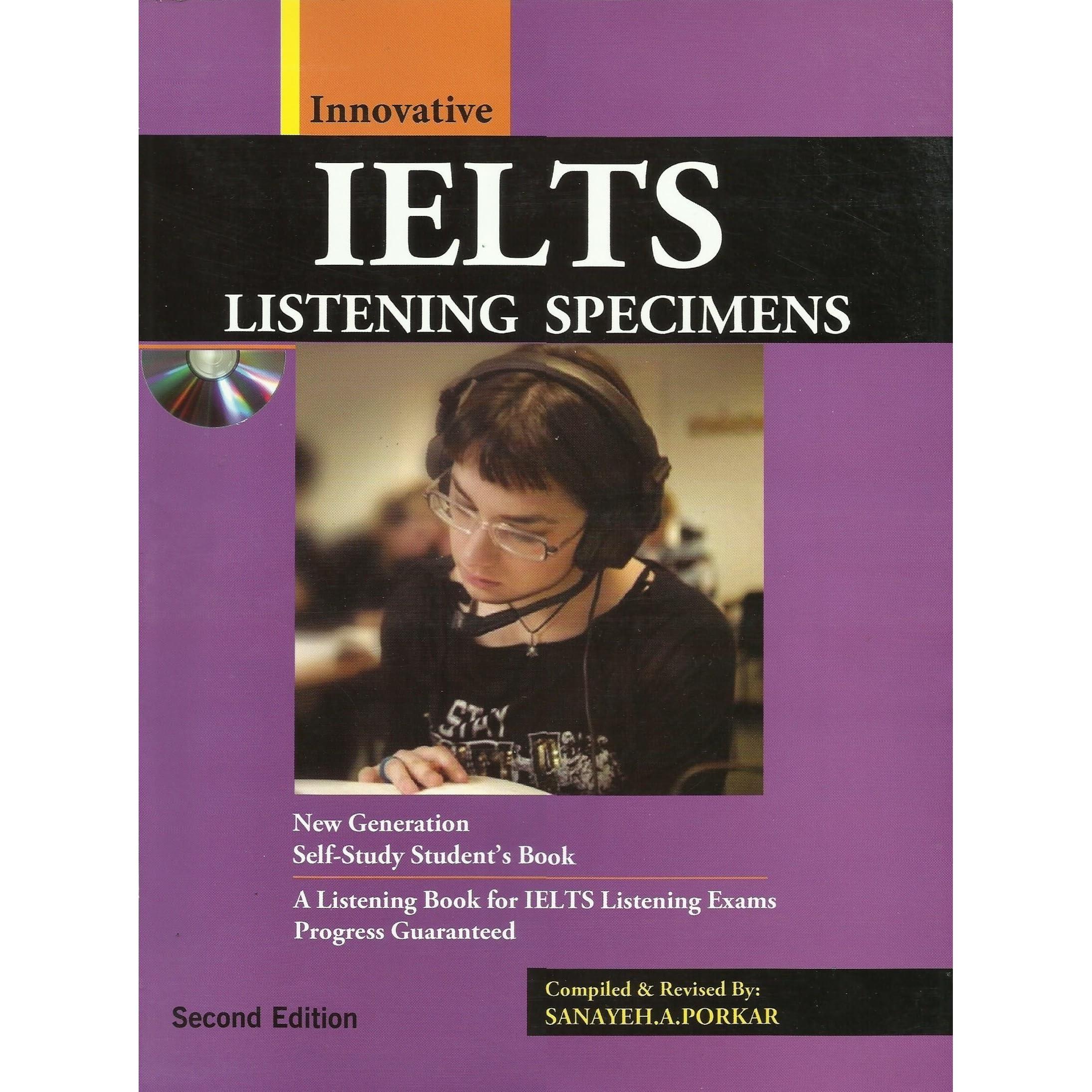 IELTS LISTENING SPECIMENS: New Generation Self Study by