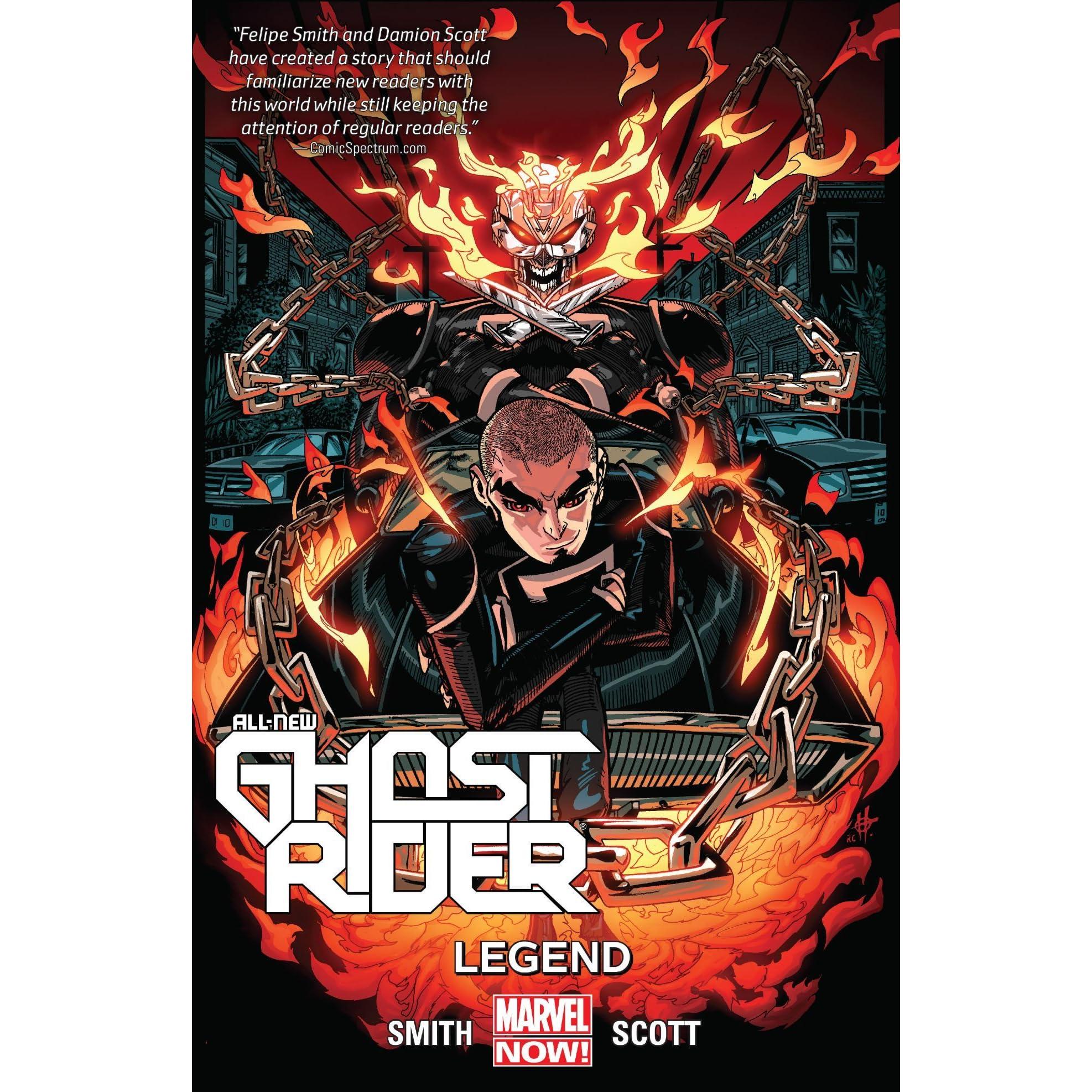 All-New Ghost Rider, Vol  2: Legend by Felipe Smith