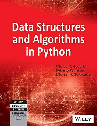 Data Structures and Algorithms in Python by Michael T. Goodrich