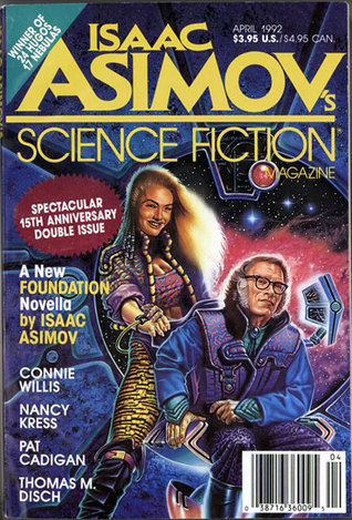 Isaac Asimov's Science Fiction Magazine, April 1992 (Asimov's Science Fiction, #184-185)