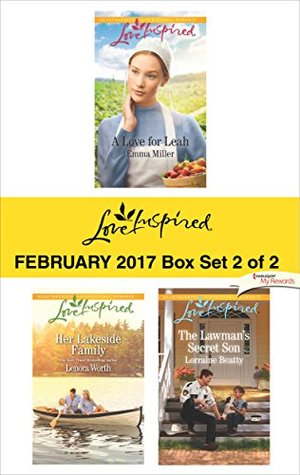 Harlequin Love Inspired February 2017 - Box Set 2 of 2: A Love for Leah\Her Lakeside Family\The Lawman's Secret Son