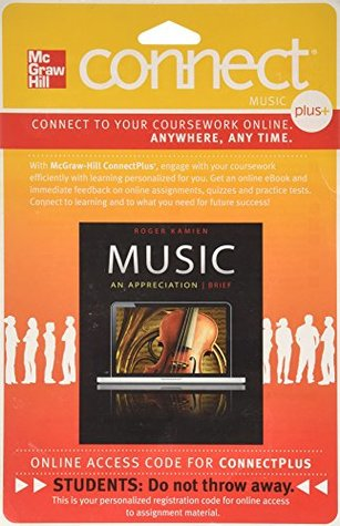 Connect Plus Access Code for Music: An Appreciation Brief 7e Roger Kamien