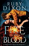 Book cover for Fire In His Blood (Fireblood Dragon, #1)