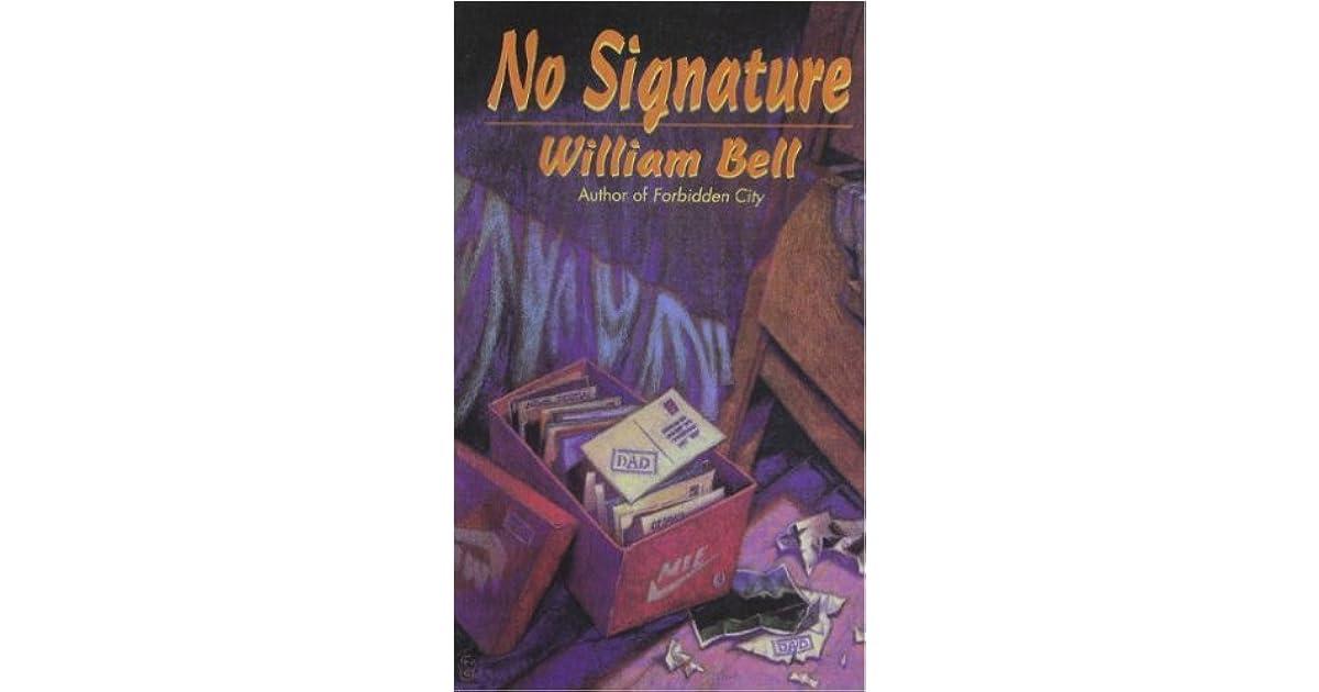 no signature william bell pdf