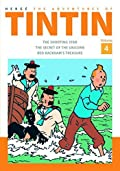 The Adventures of Tintin Volume 4: The Shooting Star / The Secret of The Unicorn / Red Rackham's Treasure