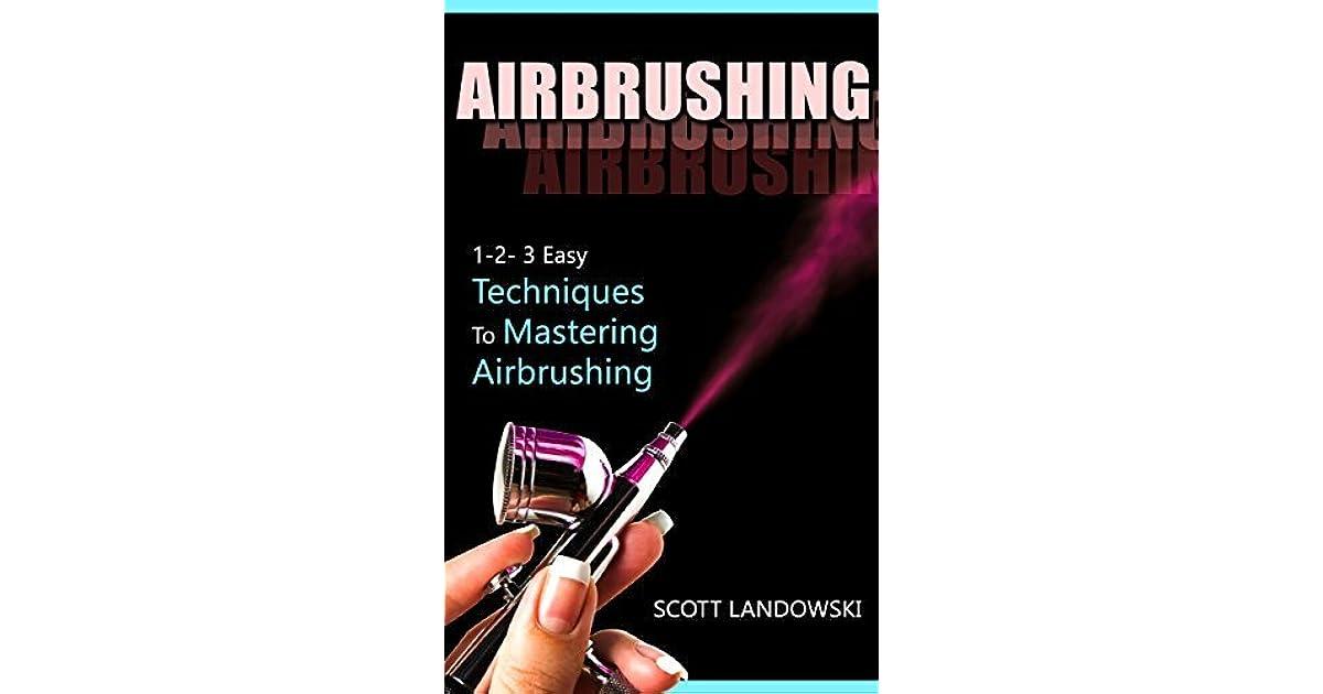 New 2 Airbrush Techniques Books