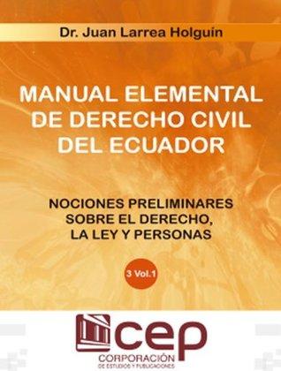 Manual Elemental de Derecho civil III - Vol - I