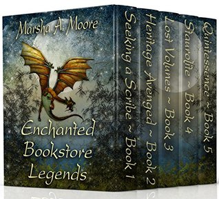 Enchanted Bookstore Legends by Marsha A. Moore
