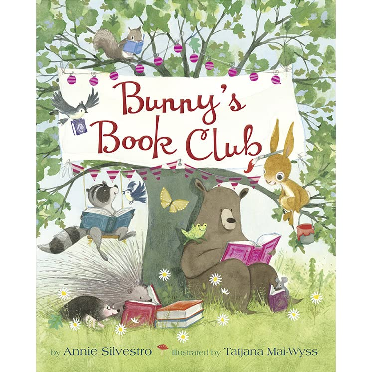 bunny 39 s book club by annie silvestro reviews discussion bookclubs lists. Black Bedroom Furniture Sets. Home Design Ideas