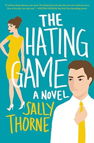 The book cover for The Hating Game