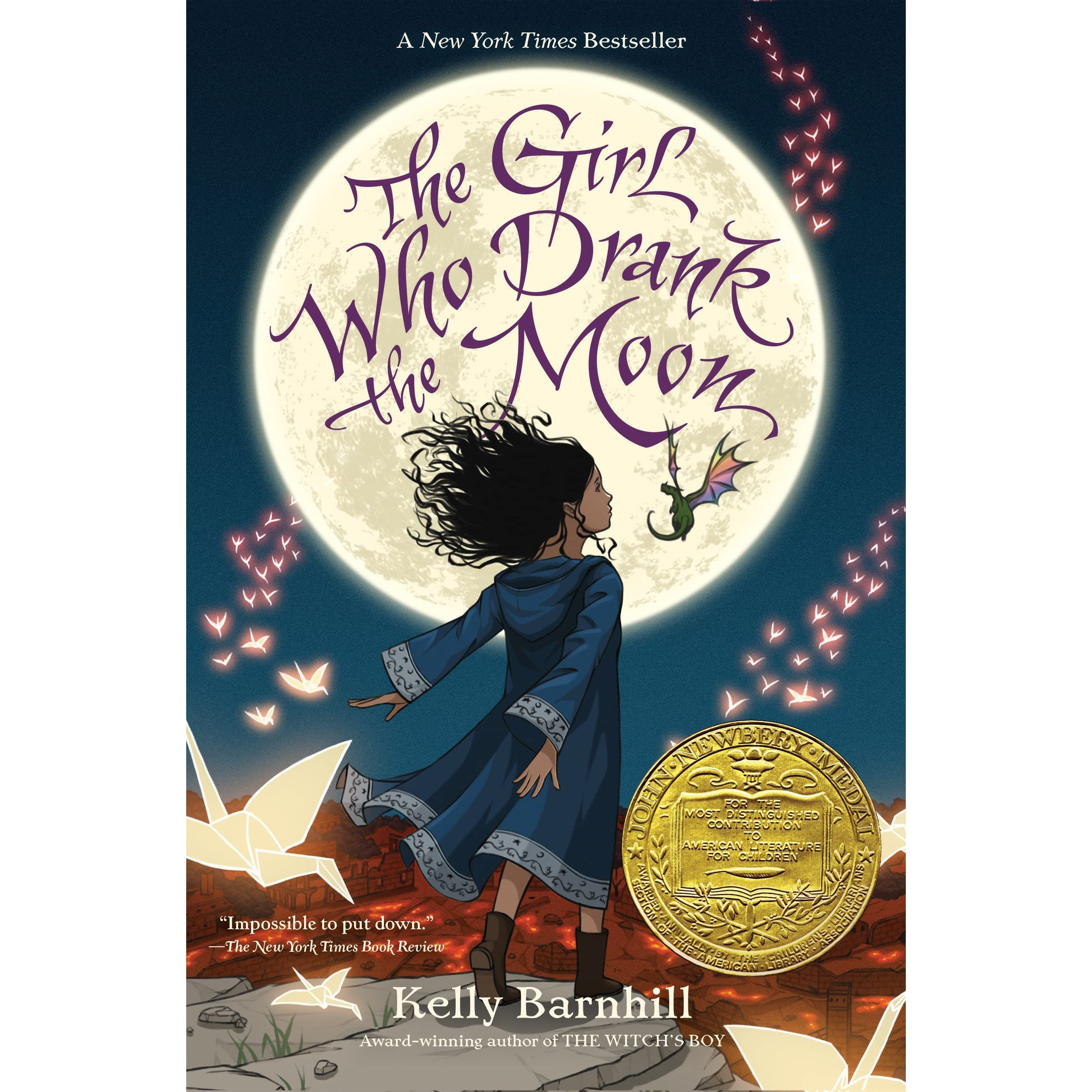The Girl Who Drank Moon By Kelly Barnhill