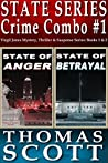State Series Crime Combo #1: State Of Anger / State Of Betrayal (Detective Virgil Jones Mystery-Thriller #1 & #2)