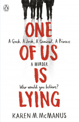 https://www.goodreads.com/book/show/32887579-one-of-us-is-lying