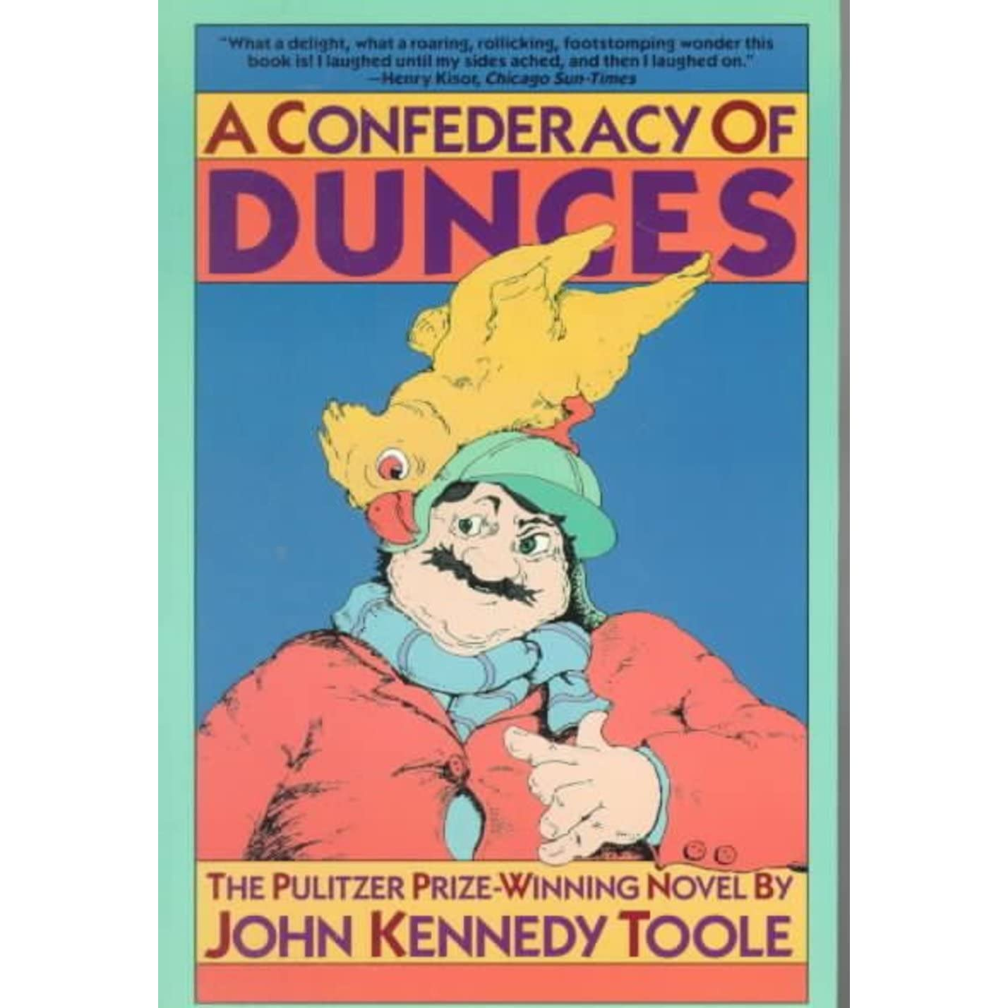 confederacy of dunces essay questions The big question, of course: will audiences finally see ignatius on the big screen as a part of dubos' film  a number of directors have tried to turn a confederacy of dunces into a.
