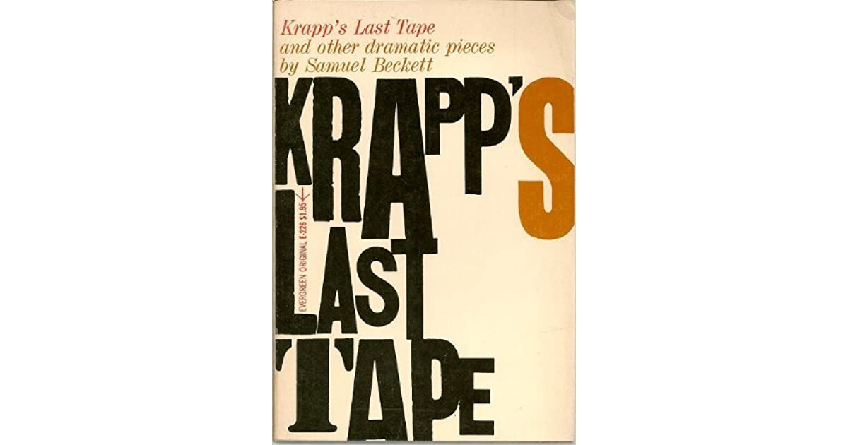 an introduction to the literary analysis of krapps last tape by samuel beckett