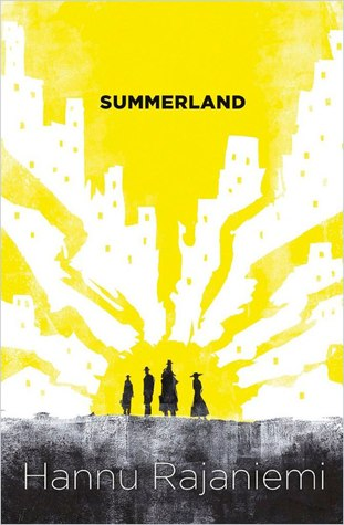 "Book cover for ""Summerland"" by Hannu Rajaniemi"