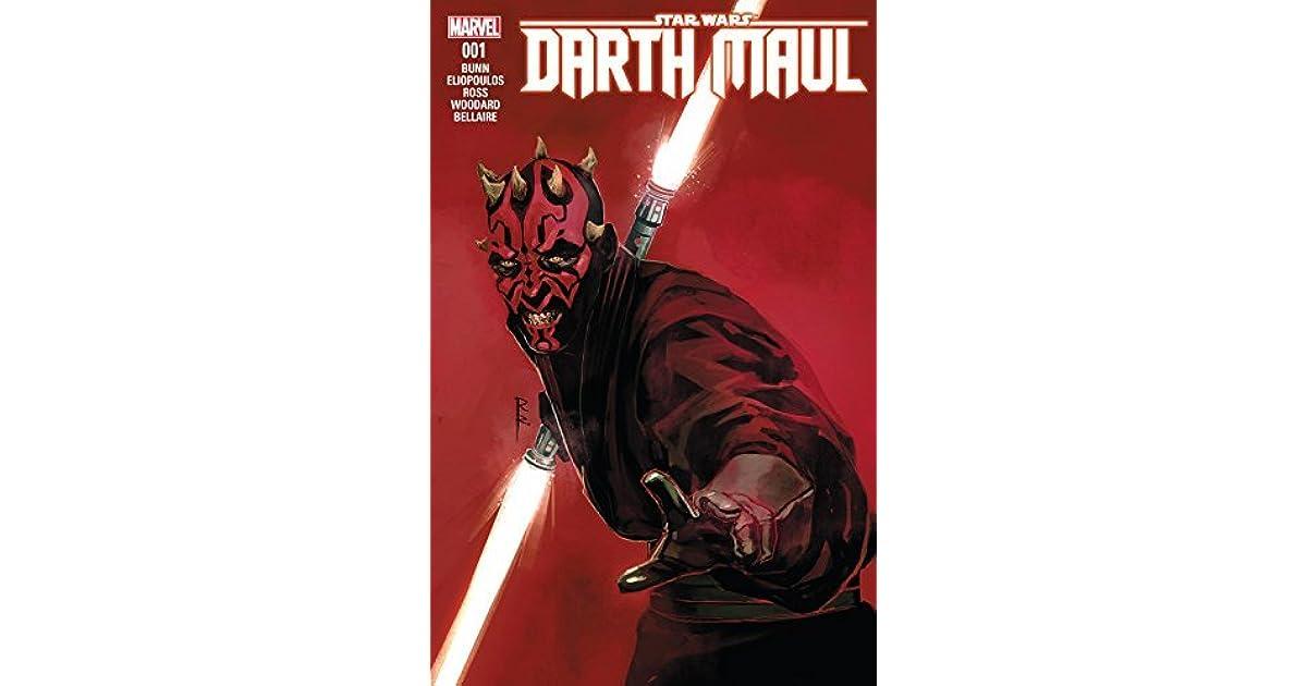 Star Wars Darth Maul #1 Halloween Comicfest STOCK PHOTO Marvel Comics 2018