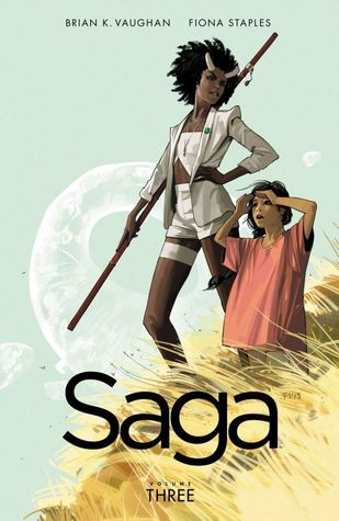 Image result for Saga Vol 3 by Brian K. Vaughan