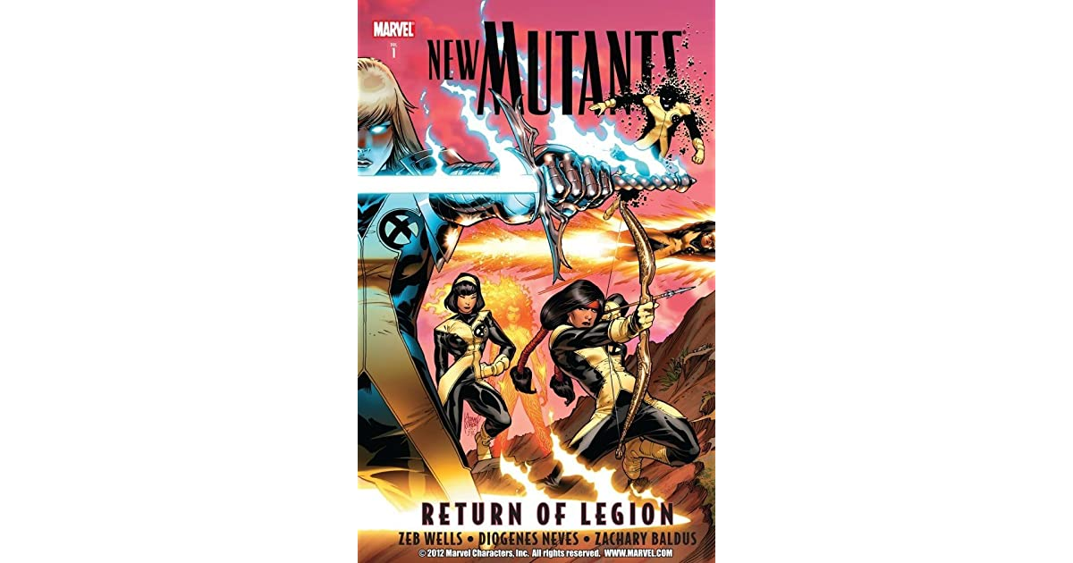 New Mutants, Volume 1: Return of Legion by Zeb Wells