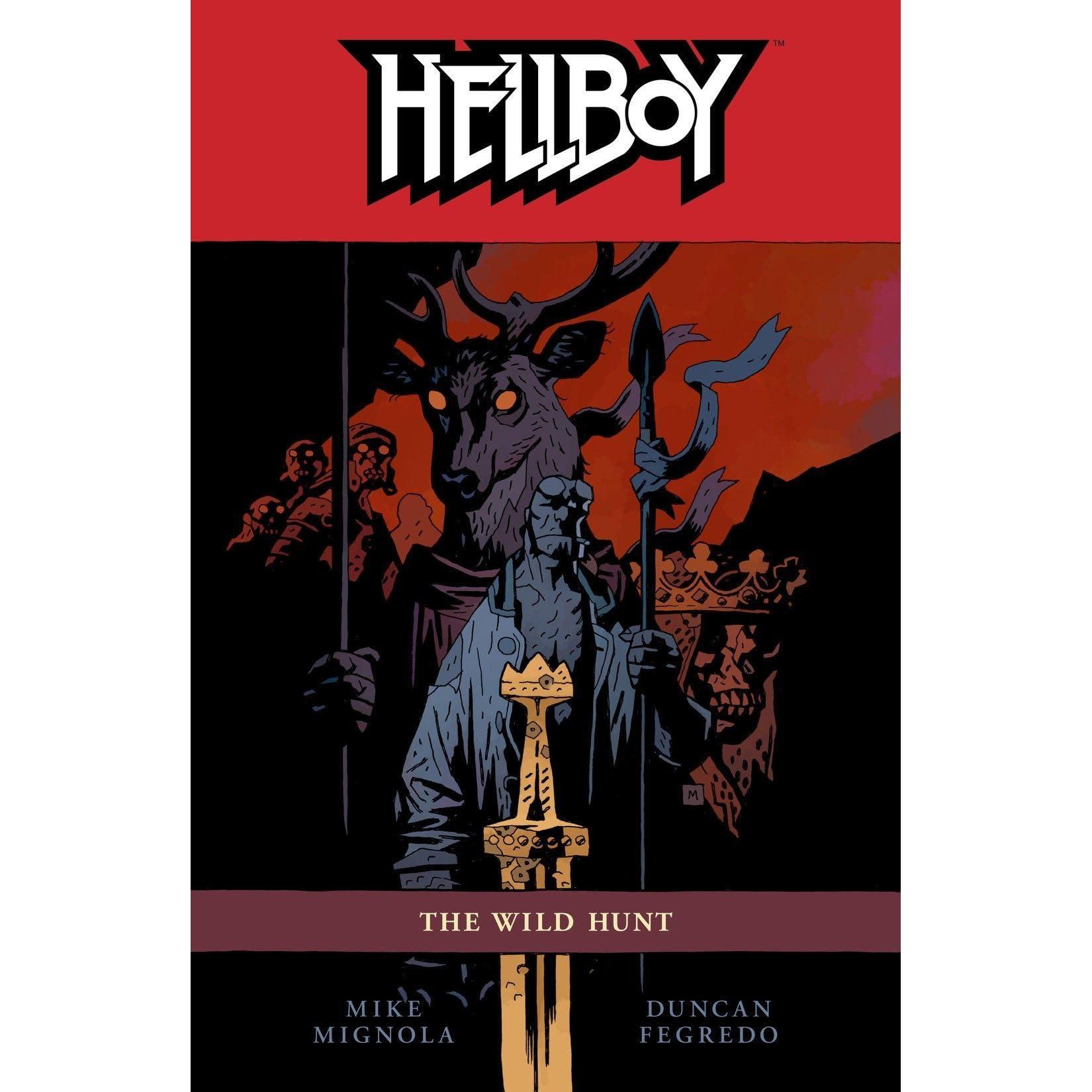 Hellboy Vol 9 The Wild Hunt By Mike Mignola