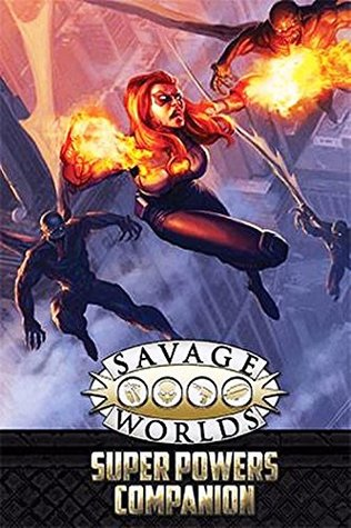 Studio 2 Savage Worlds Rpg: Super Powers Companion Limited Edition (Second Edition)