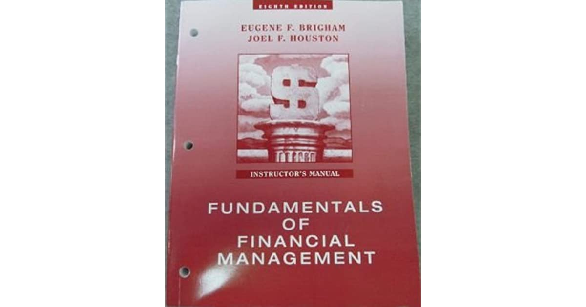 fundamentals of financial management 15th edition by brigham and houston