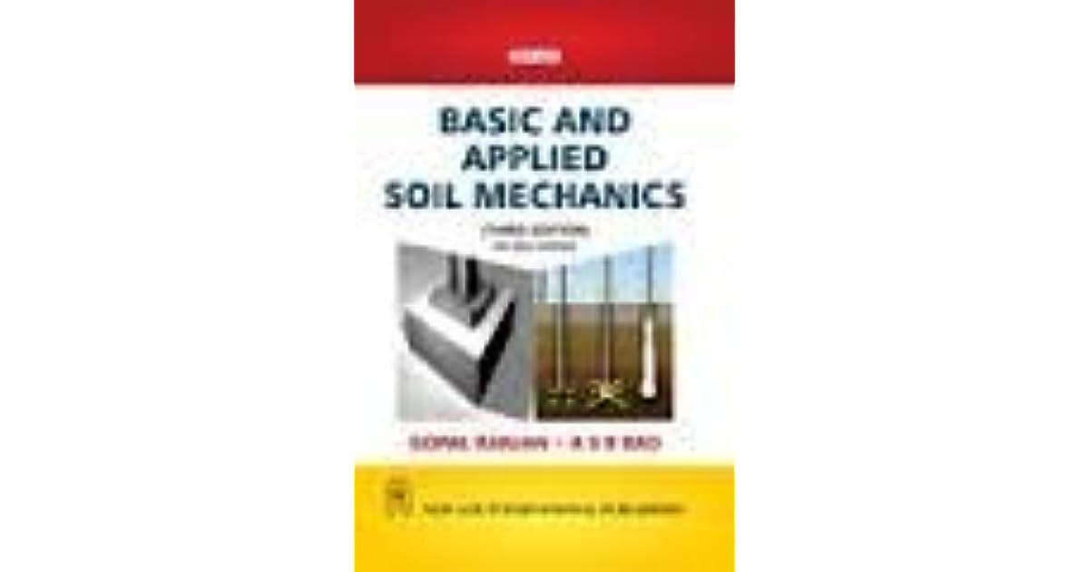 Basic and applied soil mechanics pdf