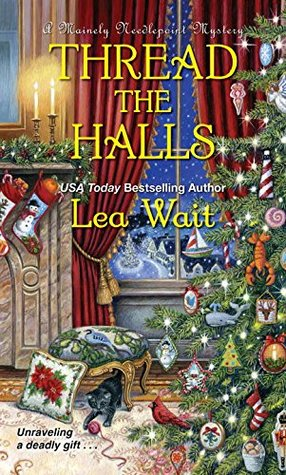 Thread the Halls (Mainely Needlepoint, #6)