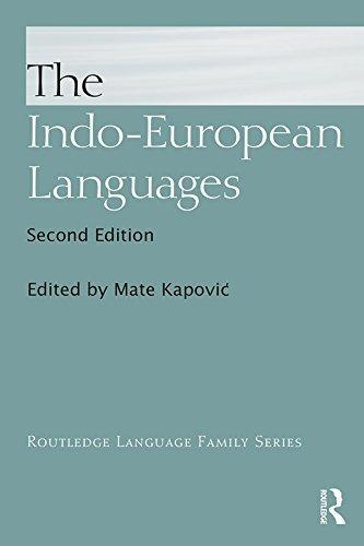 The Indo-European Languages (Routledge)