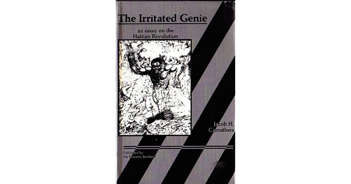 the irritated genie an essay on the an revolution by jacob h  the irritated genie an essay on the an revolution by jacob h carruthers