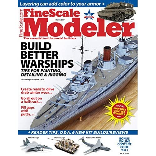 Finescale Modeler By Kalmbach Publishing Co