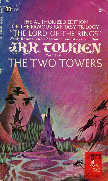 The Two Towers The Lord of the Rings 2 - J R R Tolkien